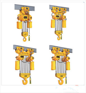 Ellsen 5-100 ton electric chain hoist for sale display