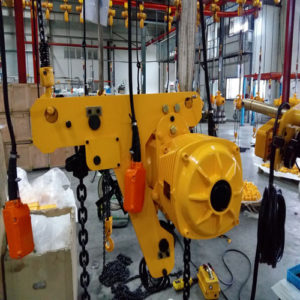 Ellsen Fiji order for 5 ton electric hoist for sale