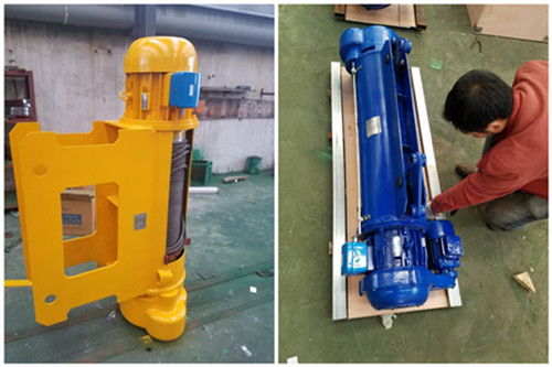 Ellsen top quality monorail hoist systems purchase order from other countries